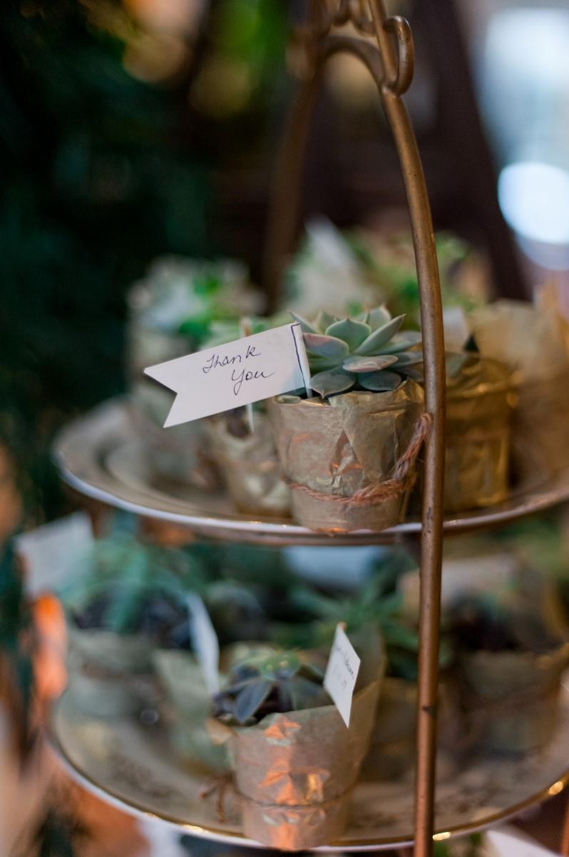 Gorgeous Greenery & Sweet Cakes Tim Hortons Wedding Dessert Table West Coast Weddings Magazine
