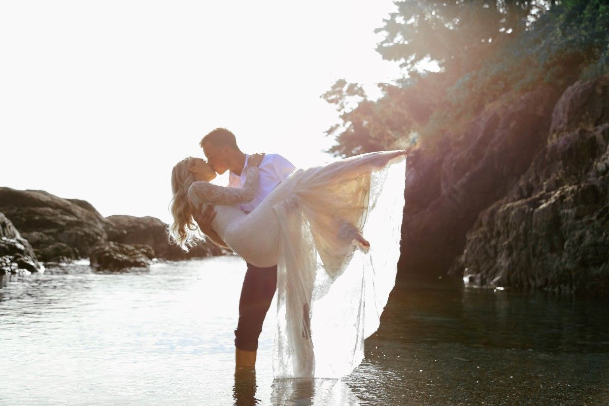 The Perfect After Wedding Session West Coast Weddings Magazine Vancouver Island