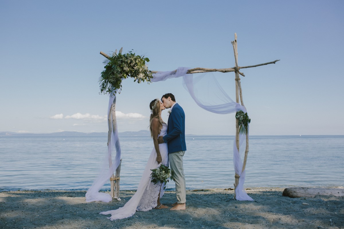 Anton & Montana's Beach Wedding on Vancouver Island West Coast Wedding Magazine