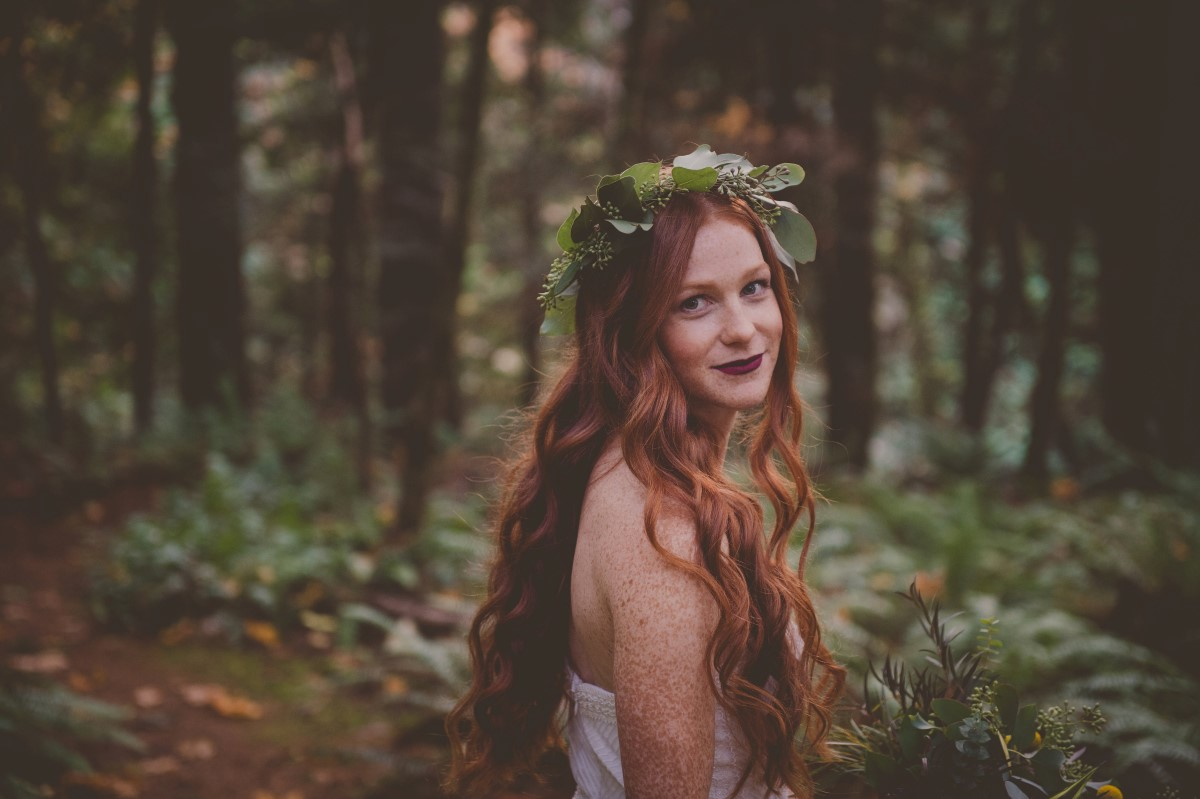 Into the Woods Inspiration Vancouver Island West Coast Weddings Magazine