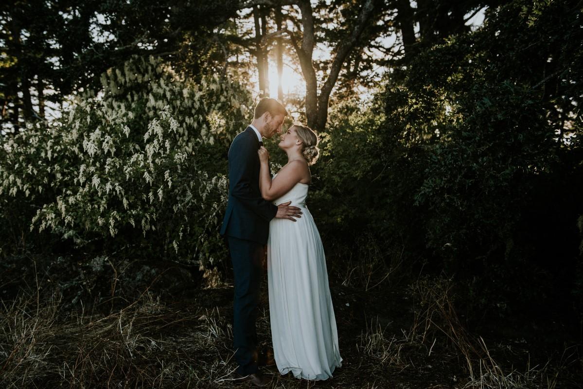 Taryn and Josh Seaside Elopment by Amee Nijjar Photography