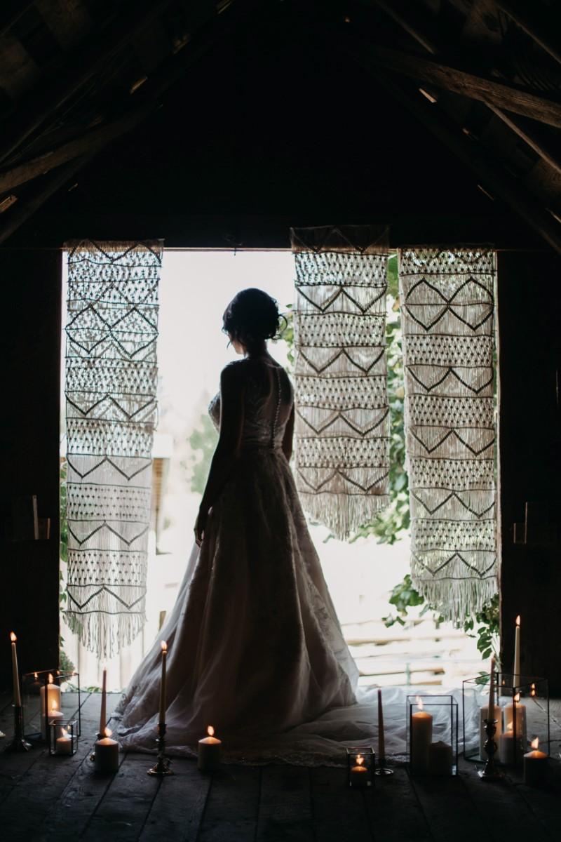 Br Inked + Pretty Brides West Coast Weddings Magazine ide Silouette