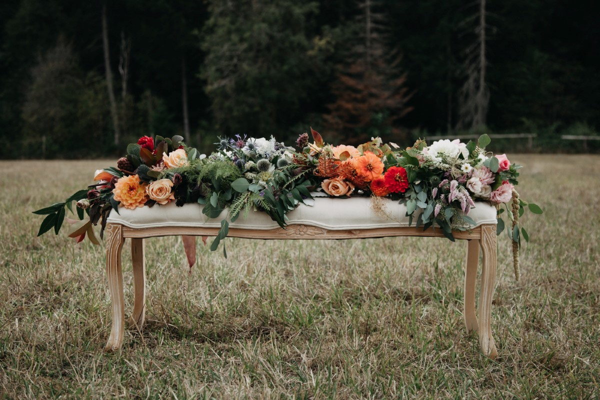 Floral Bouquets Inked + Pretty Brides West Coast Weddings Magazine