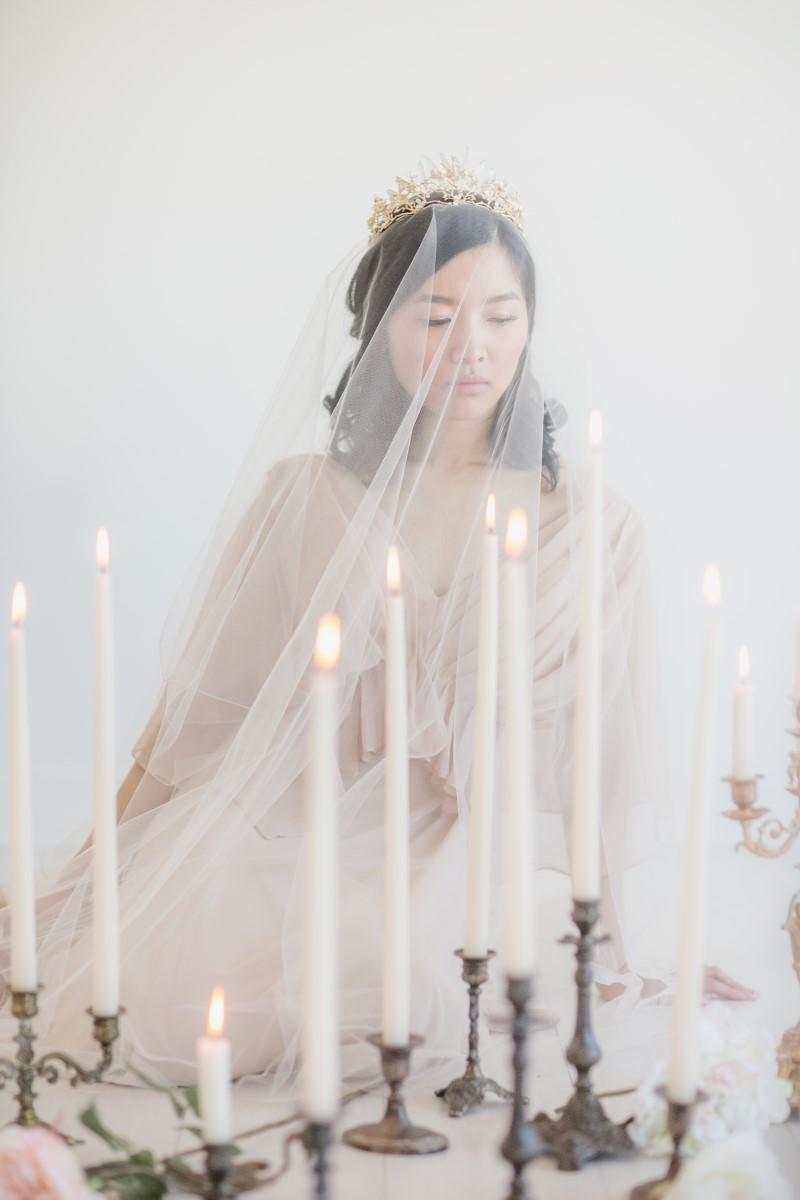 Asian Botanical Beauty Maru Photography Deborah Lee Designs West Coast Weddings Magazine Candles