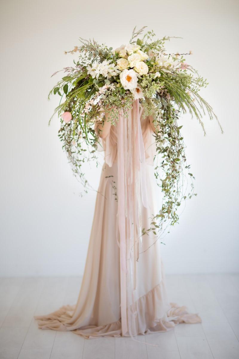 Bouquet Asian Botanical Beauty Maru Photography Deborah Lee Designs West Coast Weddings Magazine