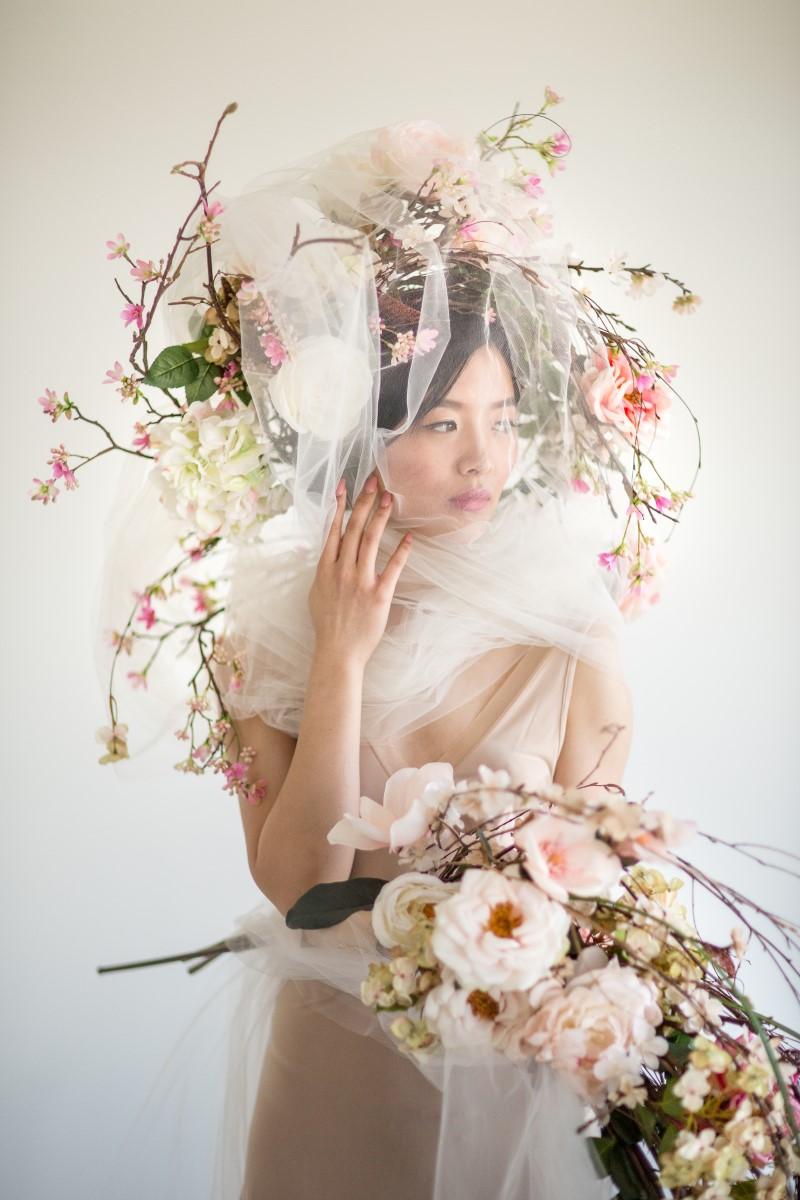 West Coast Wedding Magazine Asian Botanicals with Maru Photography