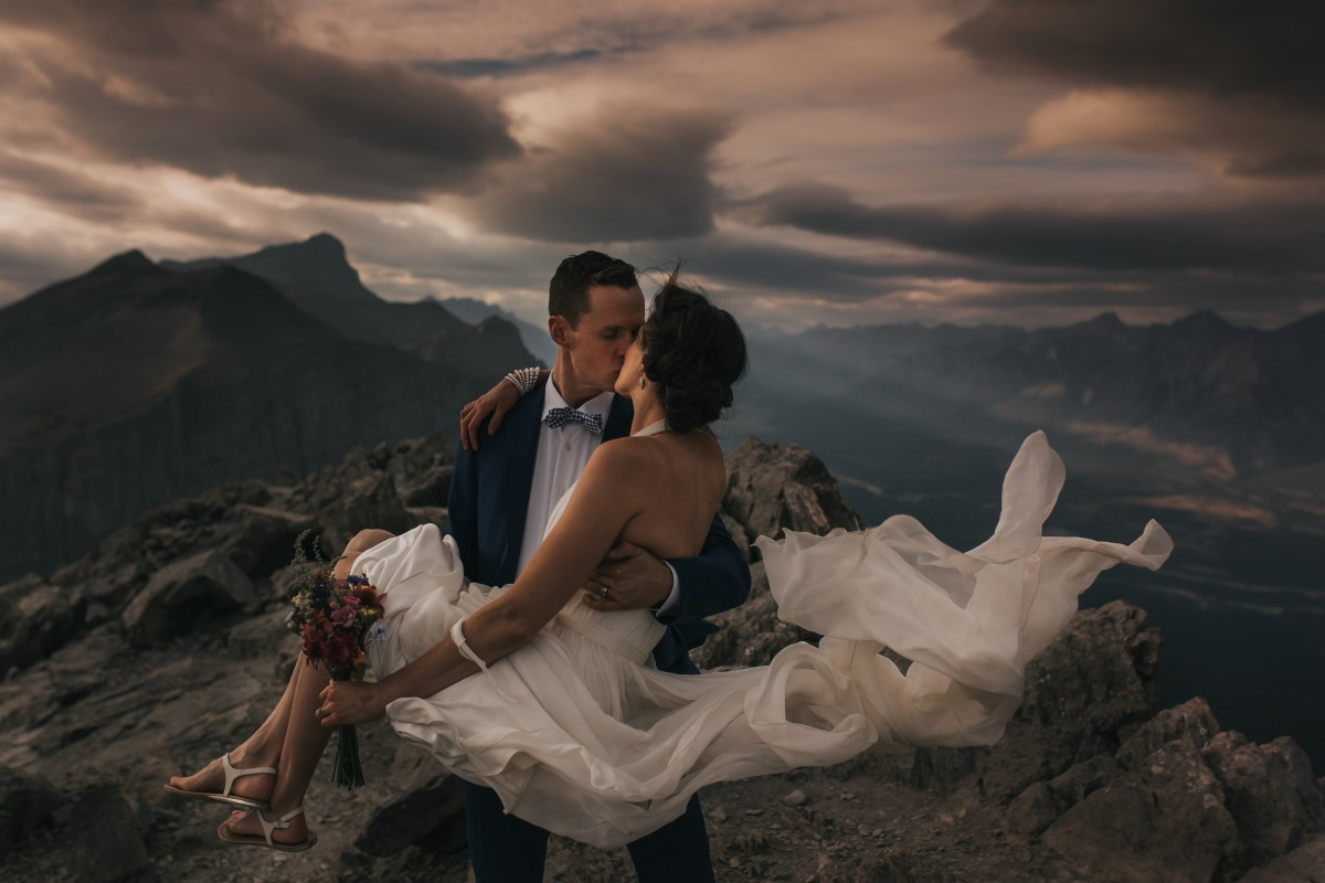 Rocky Mountain Newlyweds West Coast Weddings Magazine