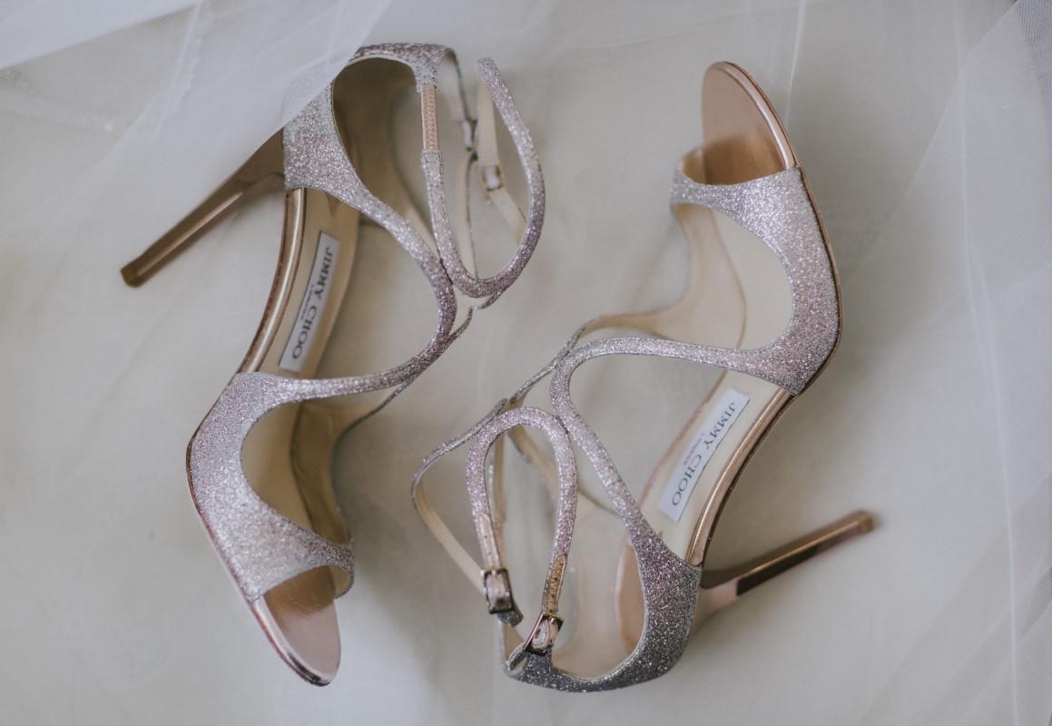 Bridal Shoes Kayseeb abd Stevan Silk Sophistication Ophelia Photography Vancouver West Coast Weddings Magazine