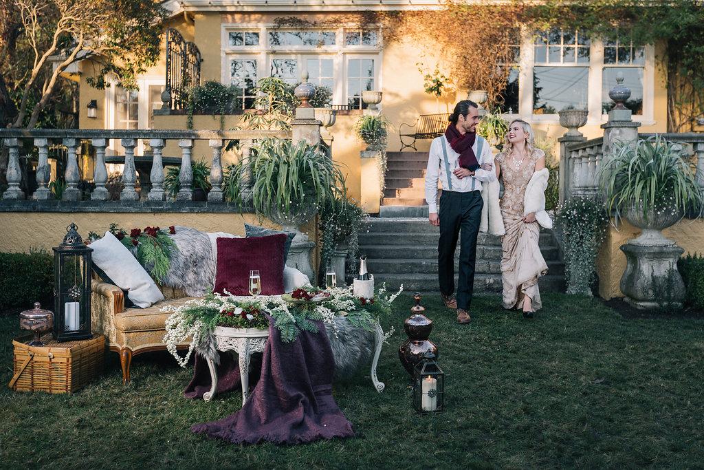 Styled Proposal West Coast Weddings Magazine