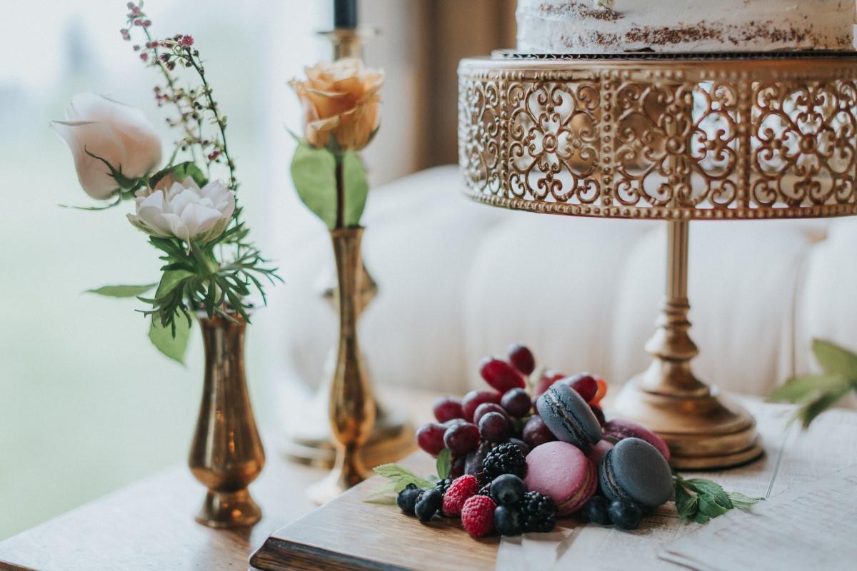 Decor Details Moody Blue Romance Summer Rayne Photo West Coast Weddings Magazine