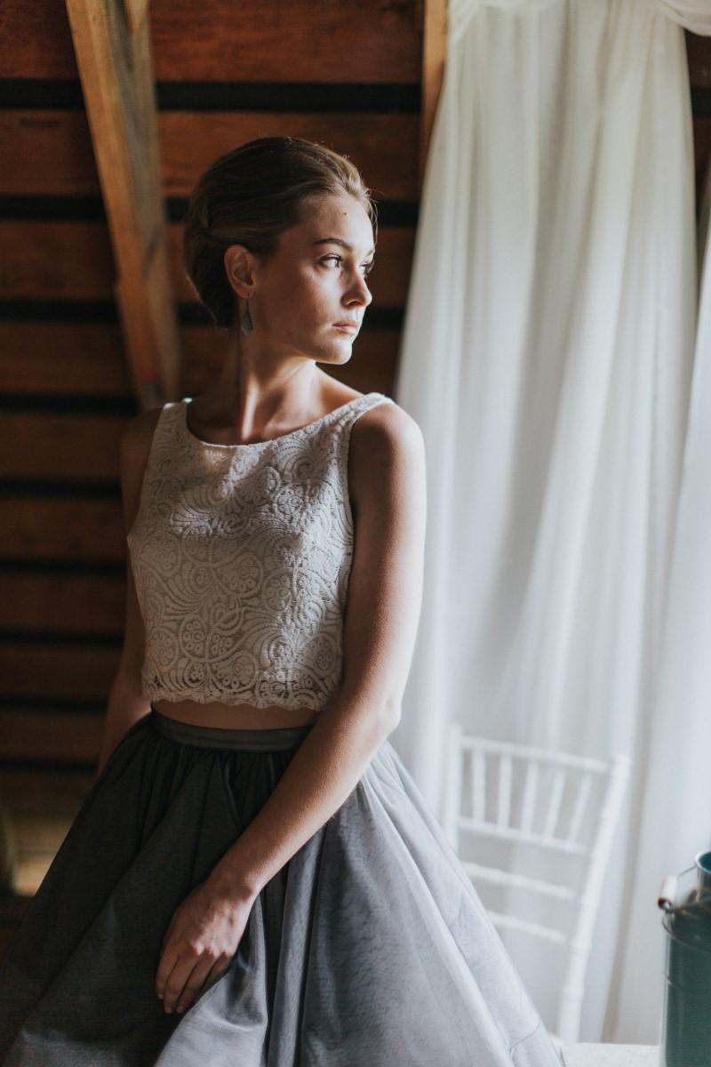 Bridal Gown SeparateMoody Blue Romance Summer Rayne Photo West Coast Weddings Magazines