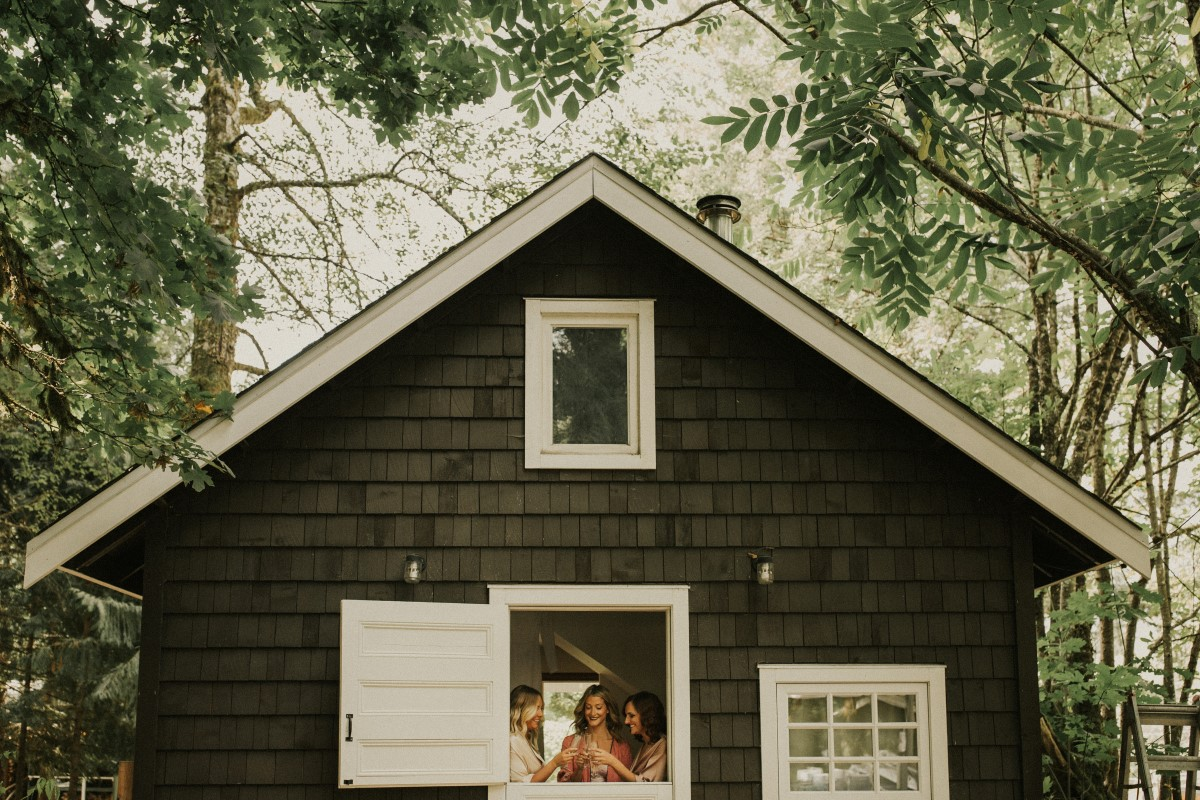 Bride Elegant Woodland West Coast Weddings Magazine Vancovuer