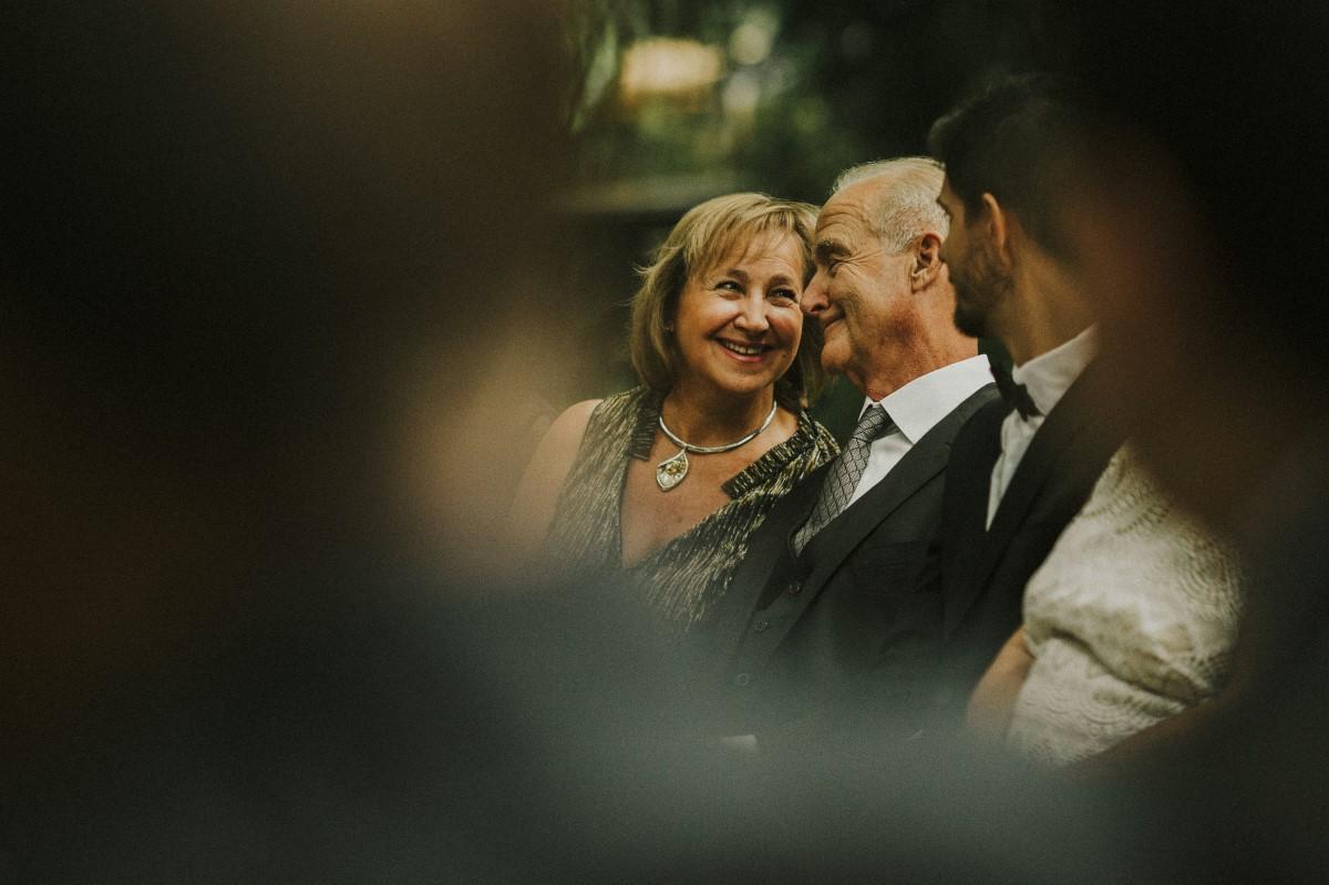 Happy Guests at Elegant Woodland West Coast Weddings Magazine Vancovuer