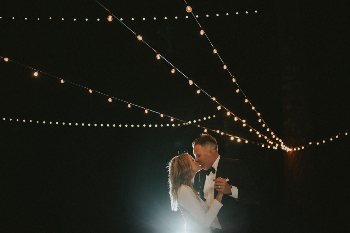 Kiss Under the Stars Reception TenElegant Woodland West Coast Weddings Magazine Vancovuert