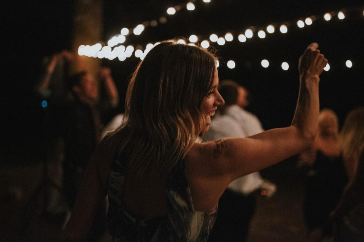 First Dance Outdoor Recption Tent Elegant Woodland West Coast Weddings Magazine Vancovuer
