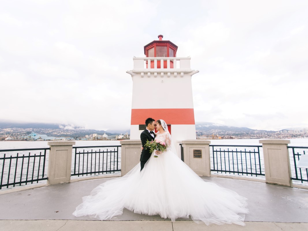 Asian Fusion Lighthouse Cherry Wang Events | Rosa Clara | Fairmont Pacific Rim | Angeline | Bobo Zhao | Beige Weddings | Laurence Zhang | Effie Design | West Coast Weddings Magazine | BC Wedding Magazine | Vancouver Wedding Magazine