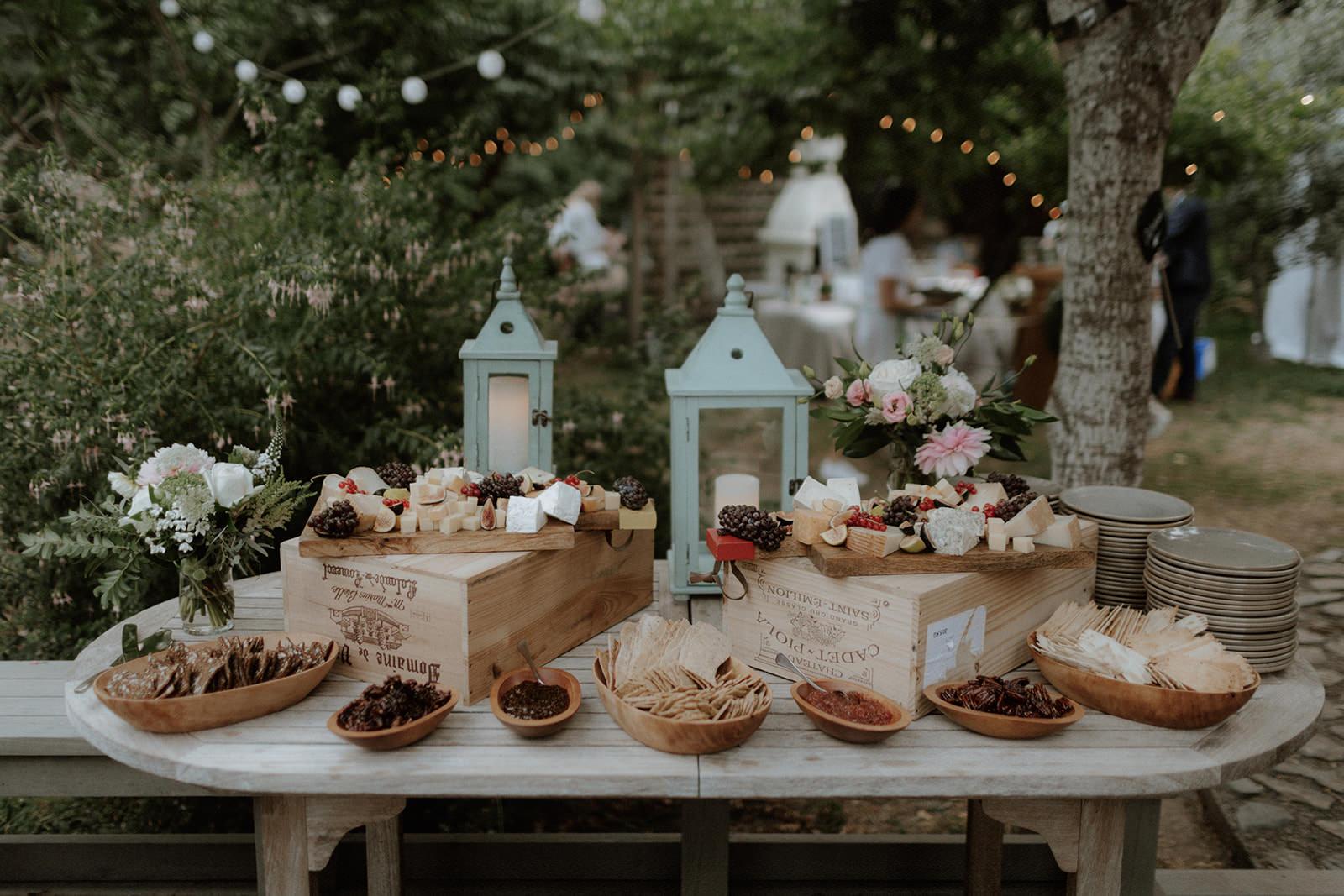 Dessert Table at Rustic Anvil Island Wedding by Bon Vivant Group West Coast Wedding Magazine