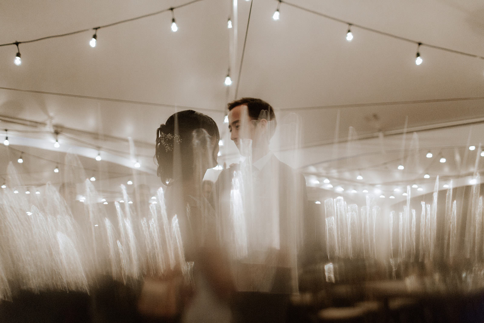 First Dance at Rustic Anvil Island Wedding by Tomasz Wagner Photography