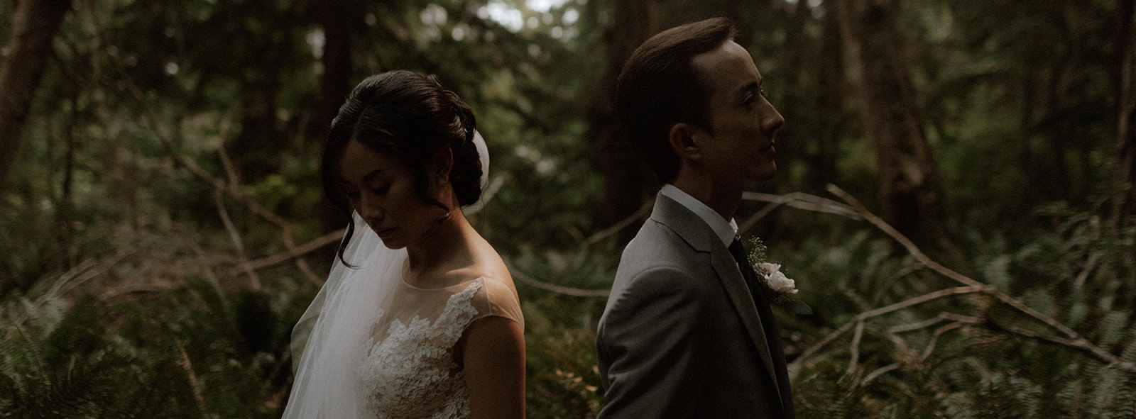 Newlywed Portrait by Tomasz Wagner Photography West Coast Weddings Magazine