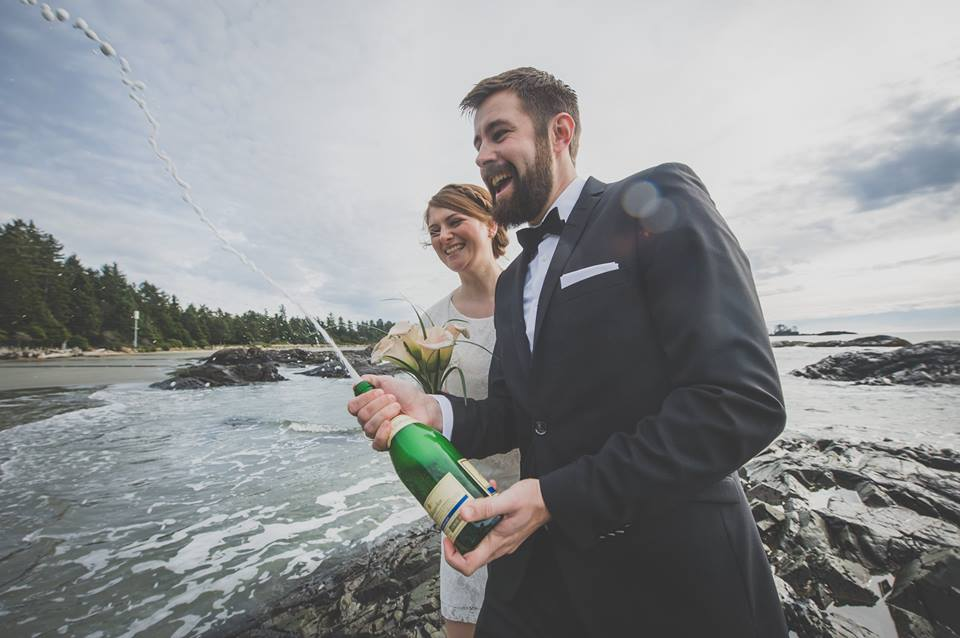 Elopement at Black Rock Oceanfront Resort by Bracey Photography on Vancouver Island