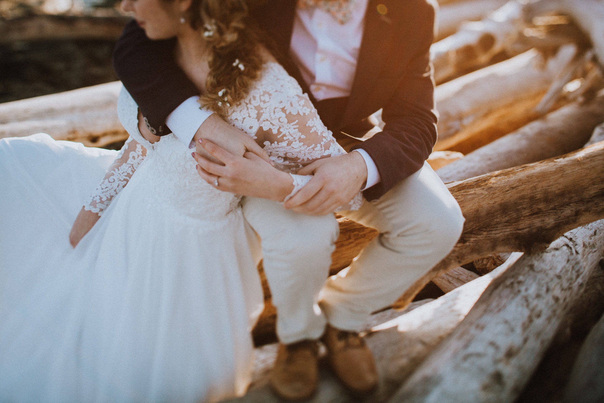 Beach Bridal Session Lis Simon Gown West Coast Weddings Magazine