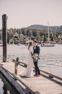 Nautical Blue Beauty by Tulle and Tweed PHotography Vancouver Island West Coast Weddings PHotography Brentwood Bay Resort