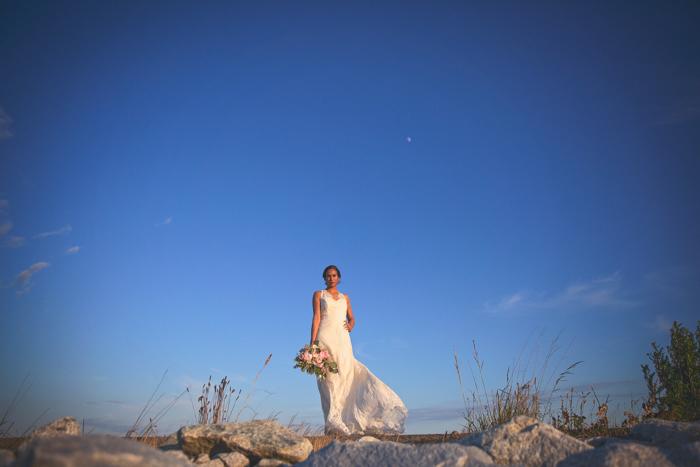Summer Lace Bride on the Beach West Coast Weddings Magazine