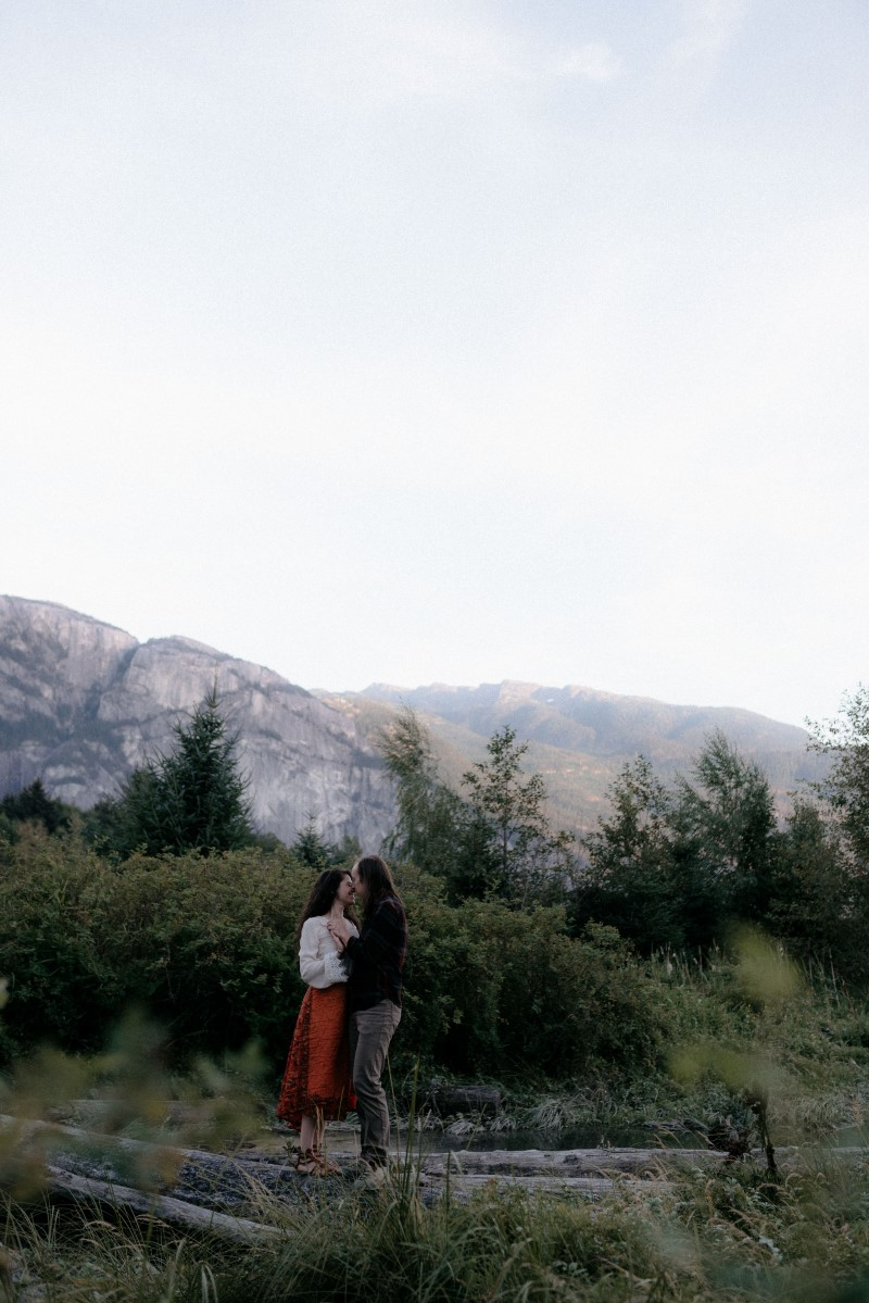 Squamish Engagement Hennygraphy Vancouver Wedding Magazine Couple in Love
