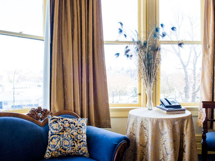 Peaceful Corner Pendray Inn and Tea House by Huntingdon Manor in Victoria British Columbia by West Coast Weddings Magazine