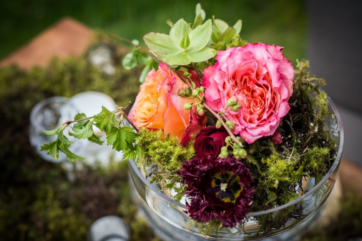 Enchanted Forest Floral Decor by Fleurtacious by Lynda Marie and West Coast Weddings Magazine