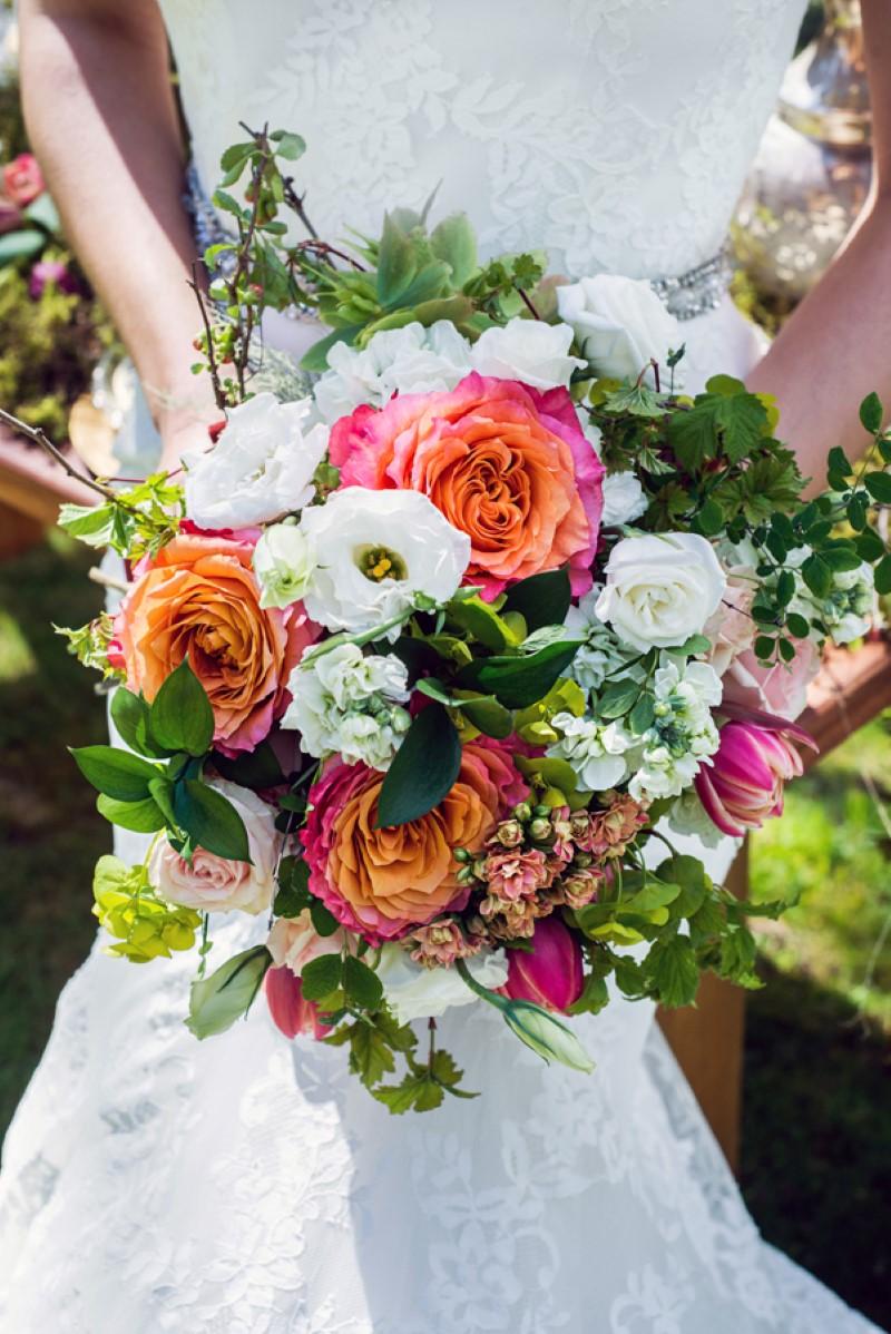 Enchanted Forest Bridal Bouquet by Fleurtacious by Lynda Marie West Coast Wedding Magazine