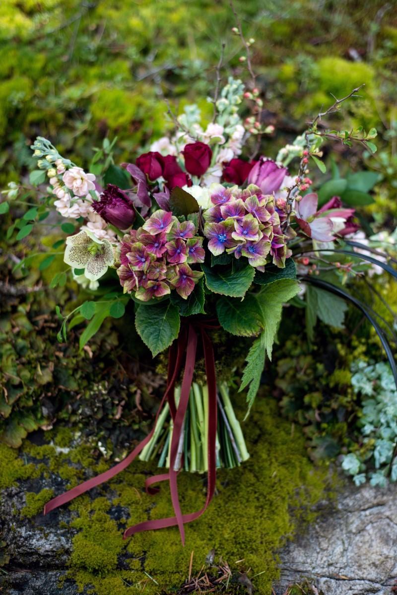 Enchanted Forest Floral Decor by Fleurtacious by Lynda Marie West Coast Weddings Magazine