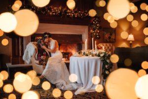 A Glamorous Hoiday Wedding at Christmas by Tasha Cline Photography of Vancouver Island