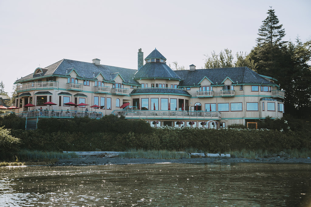 Painters Lodge Resort in Campbell River Vancouver Island Wedding Magazine
