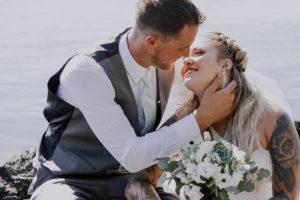 Painters Lodge Newlyweds visit April Point on Quadra Island Wedding Magazine