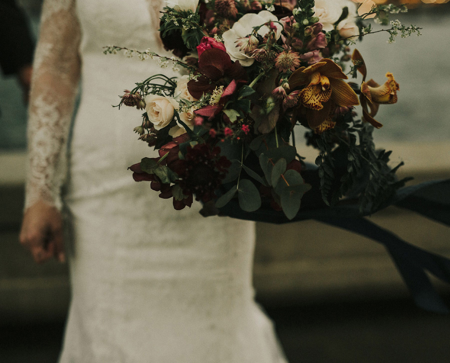 Bouquet by Celsia Floral Aston + Charlie - The Magical Cover Shot Vancouver Wedding