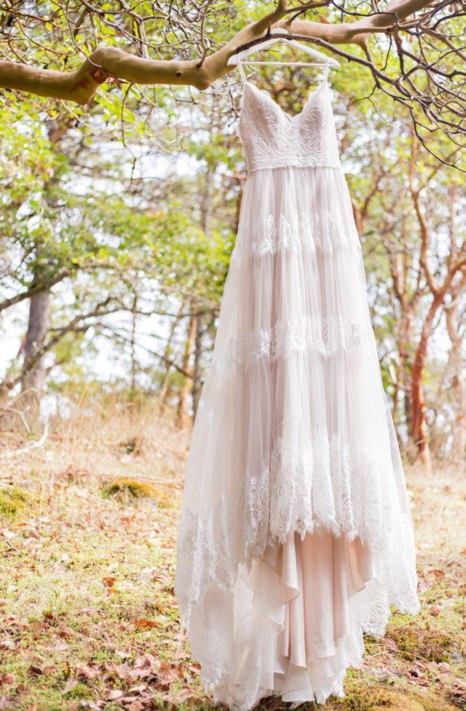 Spanish Style Bridal Gown Shades of White Victoria BC Wedding Magazine