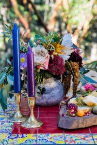 Spanish Style Outdoor Wedding Decor Mesa Rentals Vancouver Island