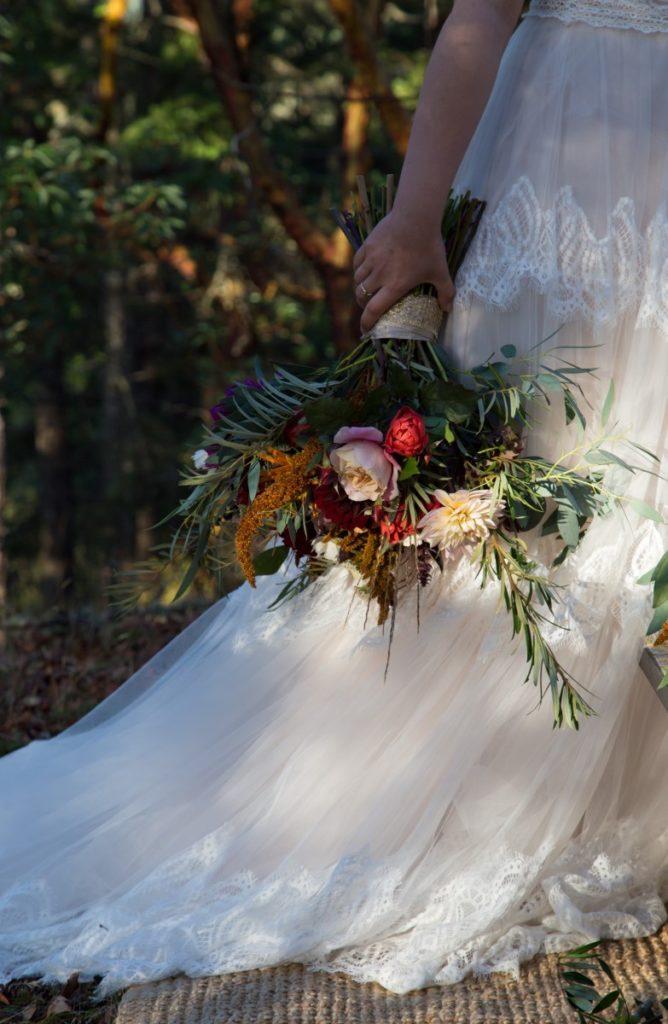 Spanish Style Gown Shades of White Bridal Vancouver Island Wedding Magazine