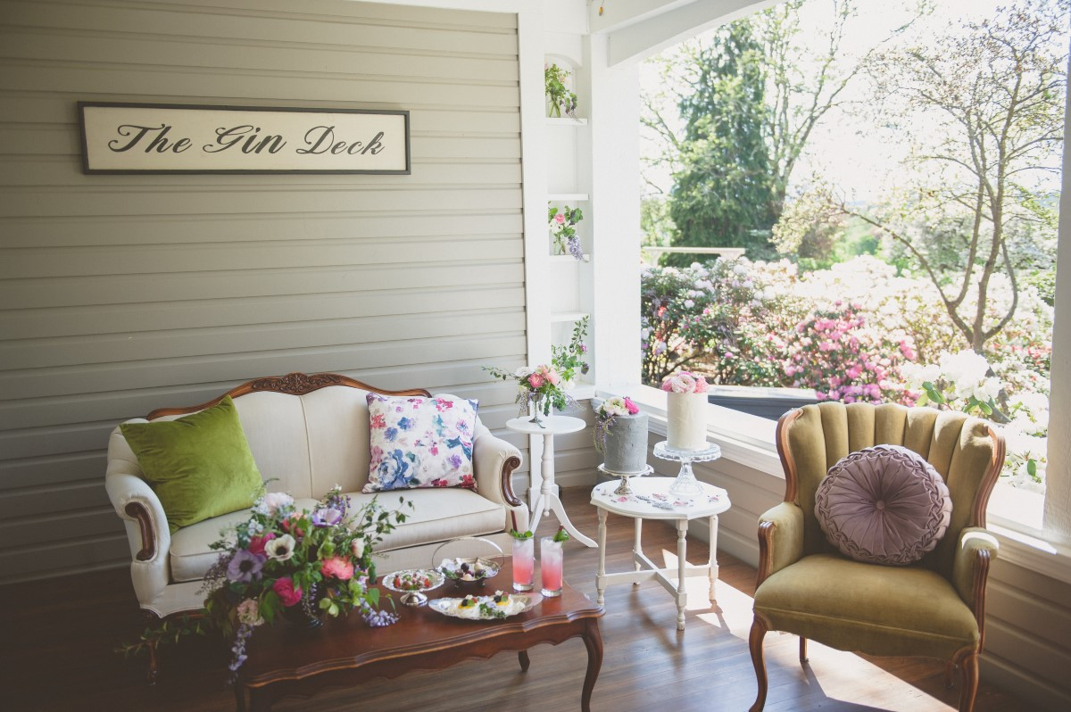 Local Love Gin Deck at Maple Bay Manor
