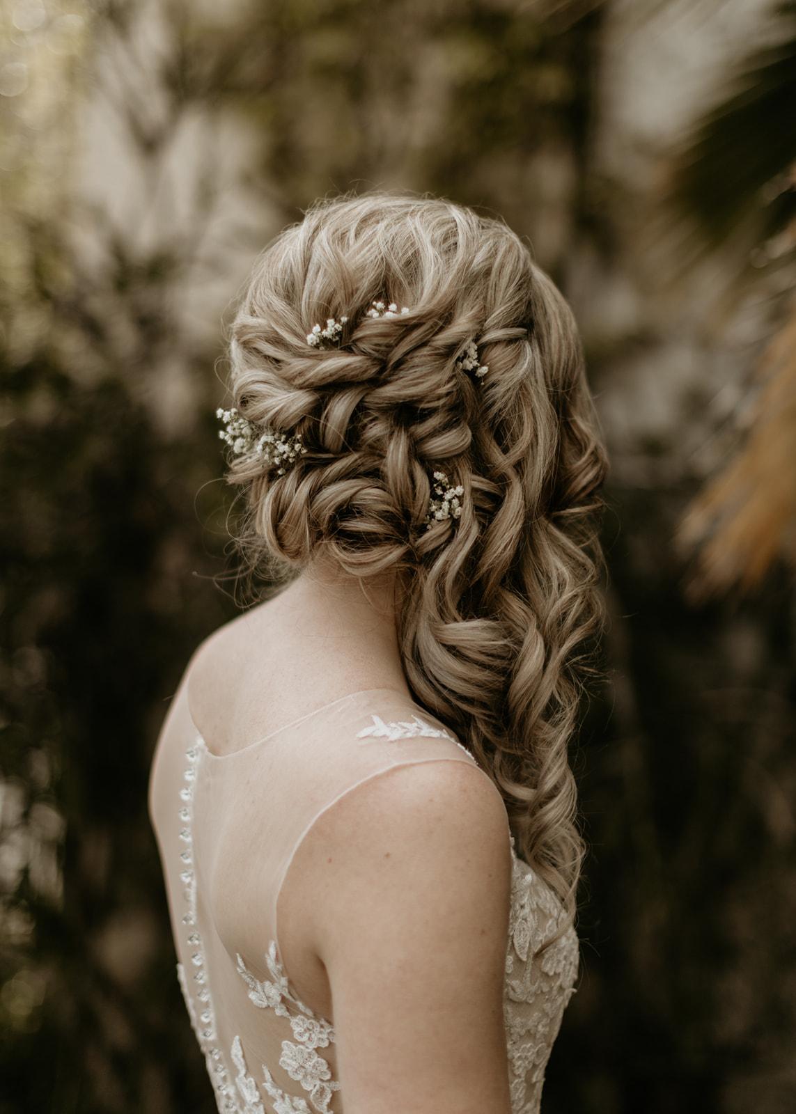 Twisted Curls Bridal Hair by Adorn Hair by Amanda Johnson