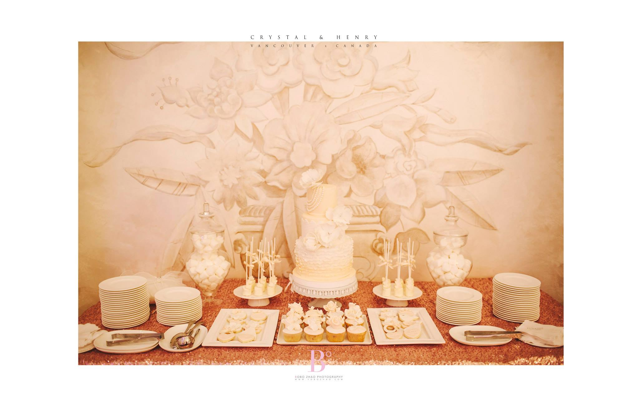 Dessert Table by Cherry Wang Productions