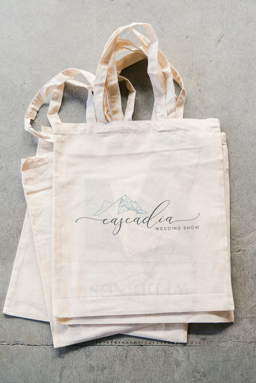 Eco Friendly wedding show bridal swag bags