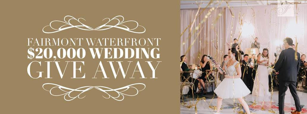 Fairmont Waterfront Vancouver Wedding Giveaway