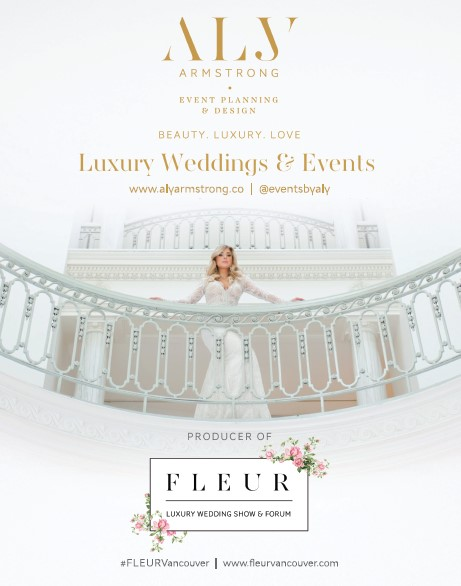 Fleur Vancouver by Aly Armstrong Events in Vancouver