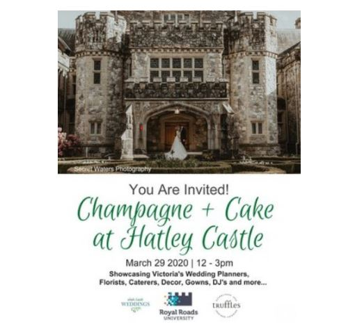 Hatley Castle Champagne and Cake Show