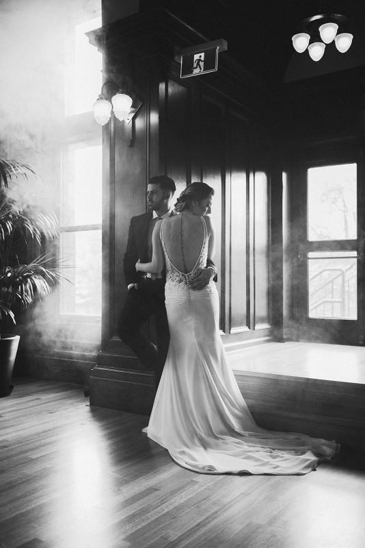 White Bridal at Fairmont Empress