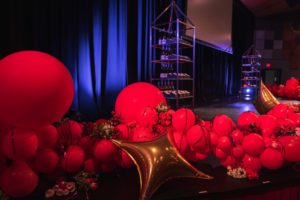 Vancouver Island Wedding Awards waiting to be given to the winners at Mary Winspear Centre by Dave Delgado Photography