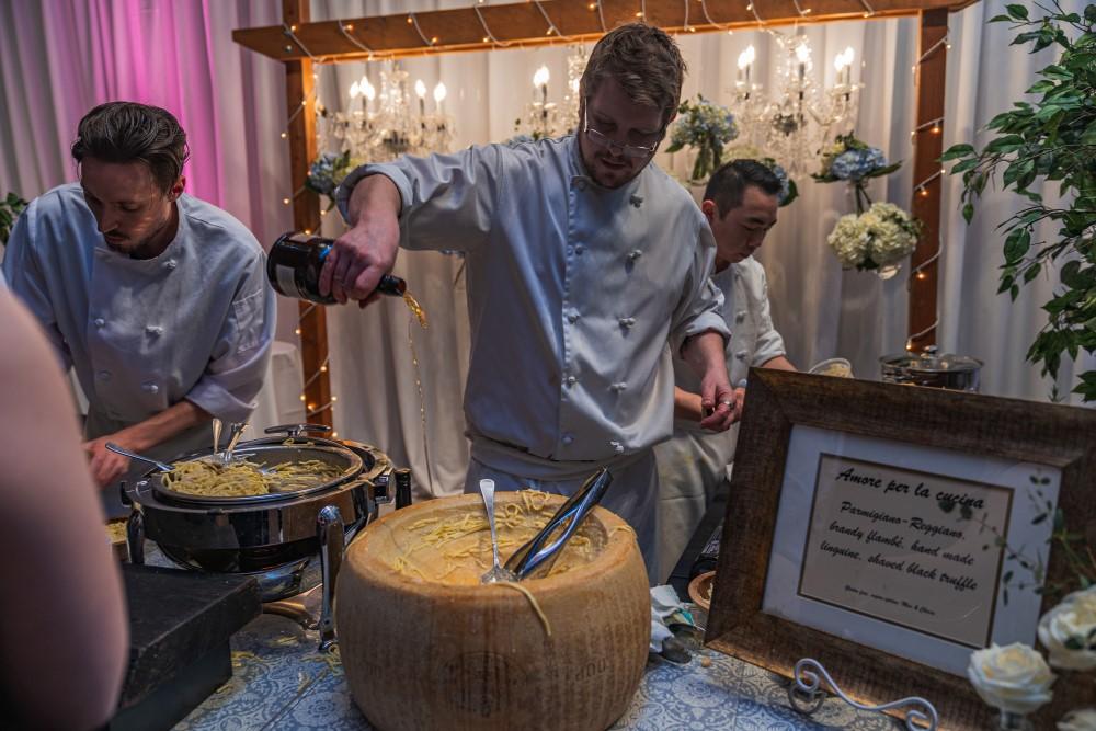Truffles Catering Chef makes Italian treats for Vancouver Island Wedding Awards