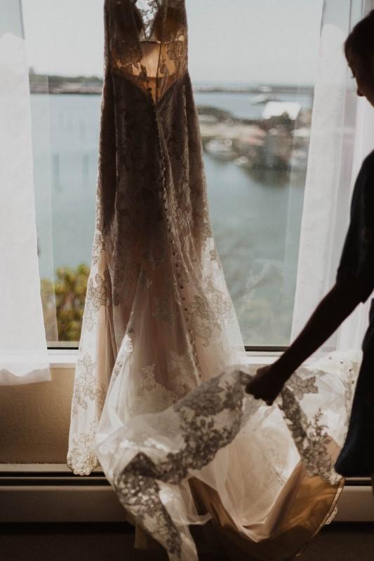 Elegant Country Wedding Dress by Blush Bridal Boutique